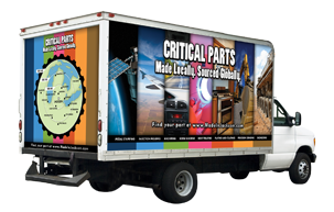 Made In Jackson Truck Wrap Graphic